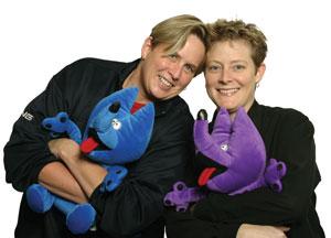 Elise Lindborg and Kelli Henderson